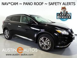 2018_Nissan_Murano AWD Platinum_*NAVIGATION, BLIND SPOT ALERT, COLLISION ALERT w/BRAKING, SURROUND CAMERAS, ADAPTIVE CRUISE, PANORAMA MOONROOF, LEATHER, CLIMATE SEATS, BOSE AUDIO, BLUETOOTH_ Round Rock TX