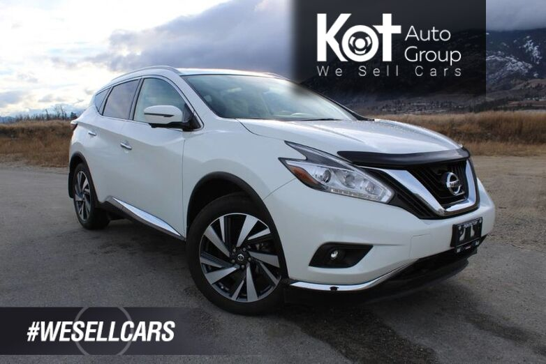 2018 Nissan Murano AWD Platinum, ONE OWNER, NO ACCIDENTS, Beige Leather Kelowna BC