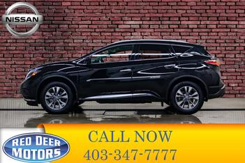 2018_Nissan_Murano_AWD SL Midnight Leather Roof Nav_ Red Deer AB