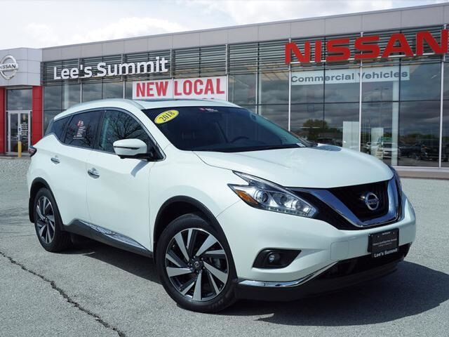 2018 Nissan Murano Platinum CERTIFIED--AWD Lee's Summit MO