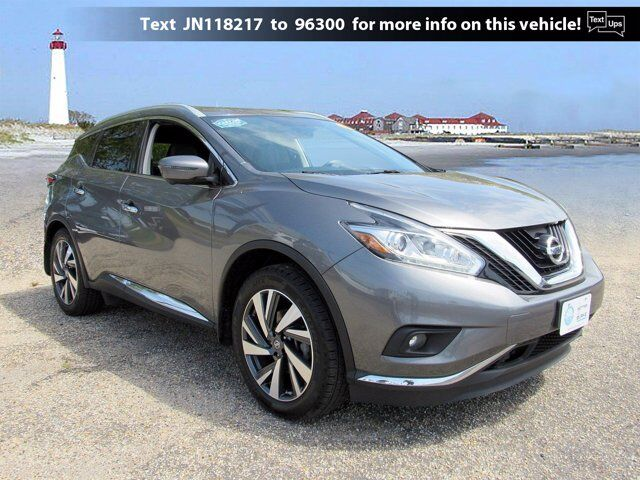 2018 Nissan Murano Platinum Cape May Court House NJ