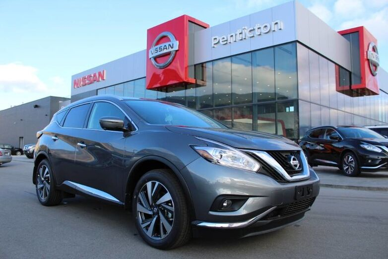 2018 Nissan Murano Platinum DEMO BLOWOUT INCLUDES WINTER TIRES Penticton BC