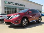 2018 Nissan Murano Platinum FWD 3.5L, 6 CYLINDER, AUTOMATIC, LEATHER SEATS, NAVIGATION SYSTEM, SUNROOF, SATELLITE RADIO