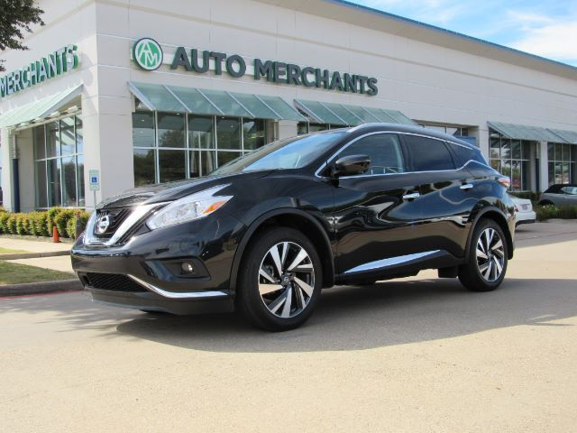 2018 Nissan Murano Platinum Panoramic Navigation Heated And Cooled Seats Liftgate Bose Sound System