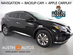 2018_Nissan_Murano S_*NAVIGATION, BACKUP-CAMERA, TOUCH SCREEN, FORWARD COLLISION MITIGATION, PUSH BUTTON START, BLUETOOTH, APPLE CARPLAY_ Round Rock TX