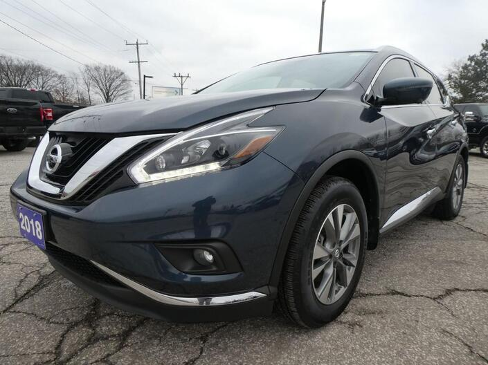 2018 Nissan Murano SL Heated Seats Navigation Remote Start Essex ON