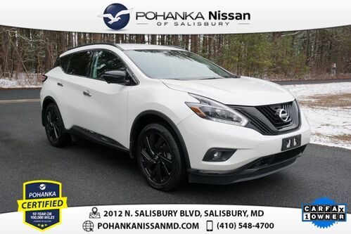 2018_Nissan_Murano_SL  Midnight Edition Pohanka Certified_ Salisbury MD