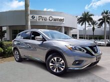 2018_Nissan_Murano_SV_ Coconut Creek FL