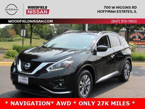 2018_Nissan_Murano_SV_ Hoffman Estates IL