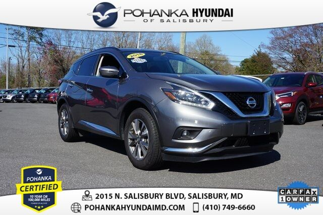2018 Nissan Murano SV **ONE OWNER** Salisbury MD