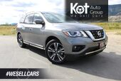 2018 Nissan Pathfinder 4x4 Platinum, Very Low Km's, One Owner, Fully Loaded, DVD Player