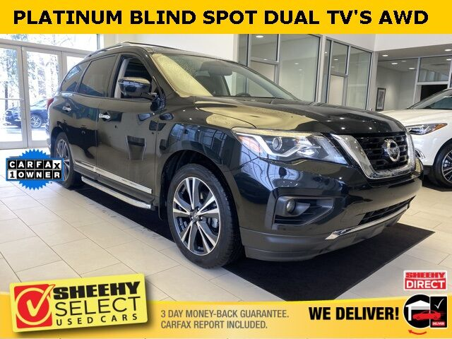 2018 Nissan Pathfinder Platinum BLIND SPOT THEATER AWD Annapolis MD