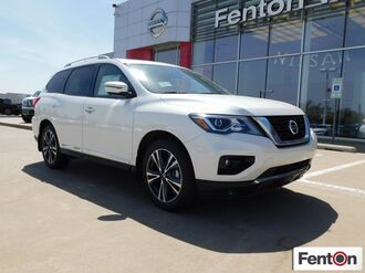 2018_Nissan_Pathfinder_Platinum_ Del City OK