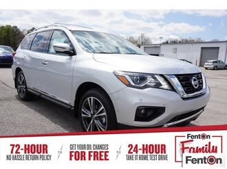 2018_Nissan_Pathfinder_Platinum_ Knoxville TN