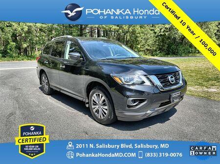 2018_Nissan_Pathfinder_S ** Pohanka Certified 10 Year / 100,000 **_ Salisbury MD
