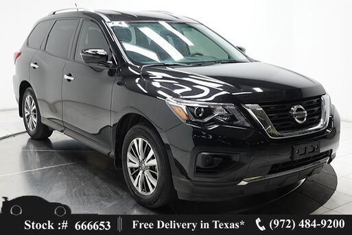 2018_Nissan_Pathfinder_S BACK-UP CAMERA,KEY-GO,18IN WLS,3RD ROW STS_ Plano TX
