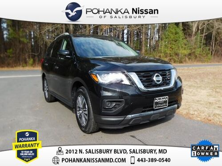 2018_Nissan_Pathfinder_S Pohanka Certified_ Salisbury MD