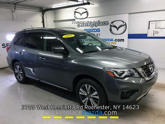 Nissan Dealers Rochester Ny >> 2018 Nissan Pathfinder Sl 4wd
