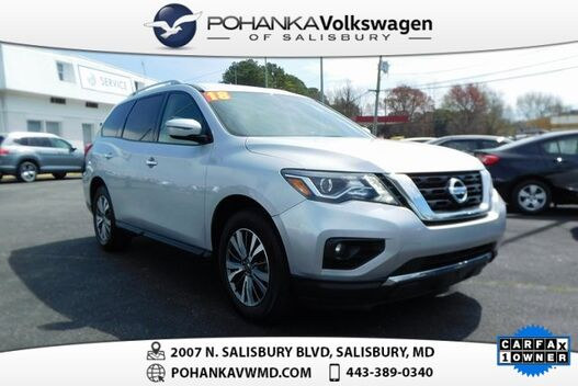 2018_Nissan_Pathfinder_SV ** ONE OWNER ** THIRD ROW **_ Salisbury MD