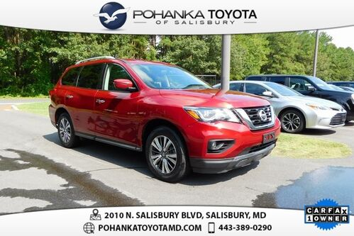 2018_Nissan_Pathfinder_SV 3RD ROW REDUCED_ Salisbury MD