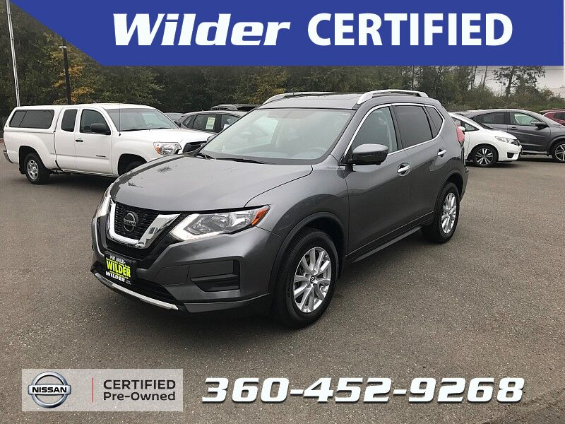 2018 Nissan Rogue 4d SUV AWD SV Port Angeles WA