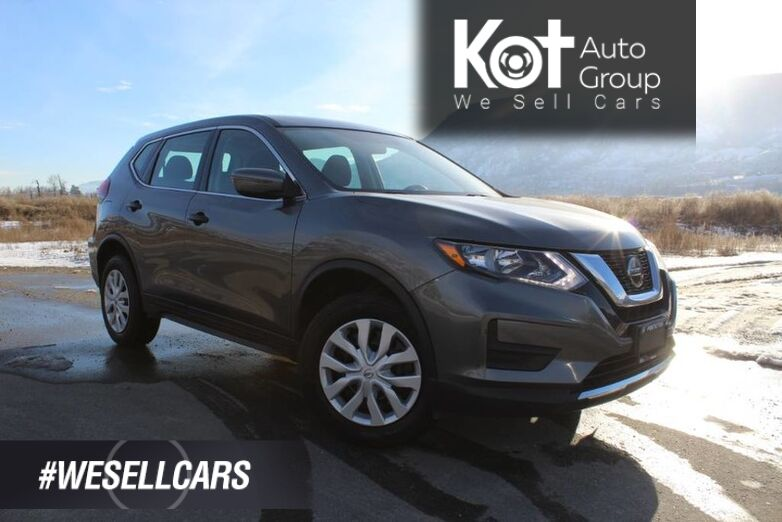 2018 Nissan Rogue AWD S, ONE OWNER, NO ACCIDENTS Kelowna BC