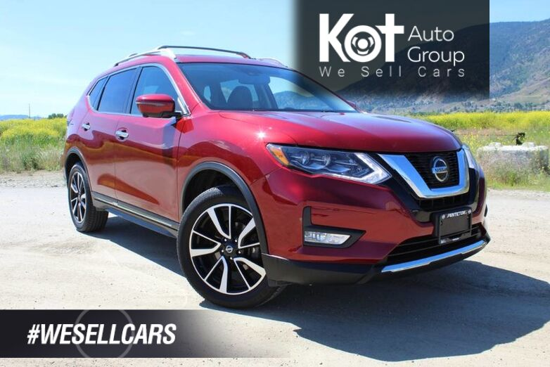 2018 Nissan Rogue AWD SL, ONE OWNER, LOW KM'S, CARFAX PERFECT, LIKE NEW CONDITION ! Kelowna BC