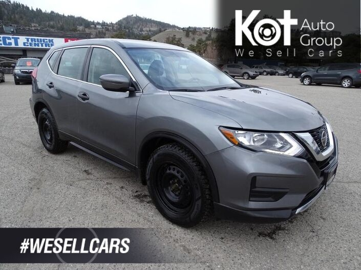 2018 Nissan Rogue S, Low KM's! Heated Seats, Back-up Camera Kelowna BC