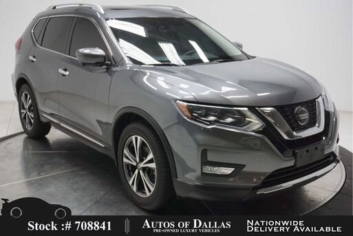 2018_Nissan_Rogue_SL NAV,CAM,PANO,HTD STS,KEY-GO,18IN WHLS_ Plano TX