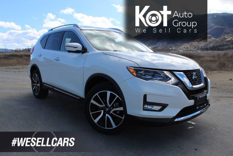 2018 Nissan Rogue SL, ONE OWNER, NO ACCIDENTS! Kelowna BC