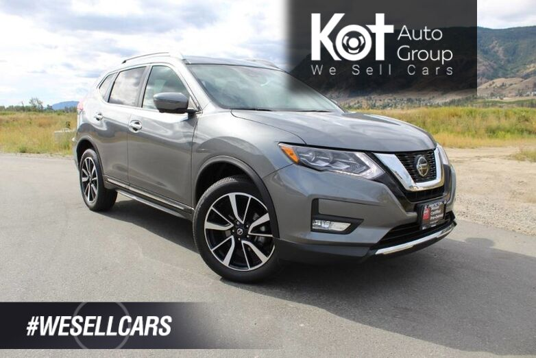 2018 Nissan Rogue SL, Very Low Km's, No Accidents, Fully Loaded Penticton BC