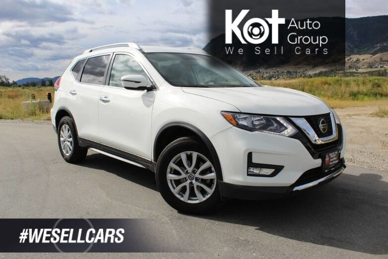2018 Nissan Rogue SV, AWD, Low Km's, Heated Seats, No Accidents, and Good Fuel Eff Kelowna BC