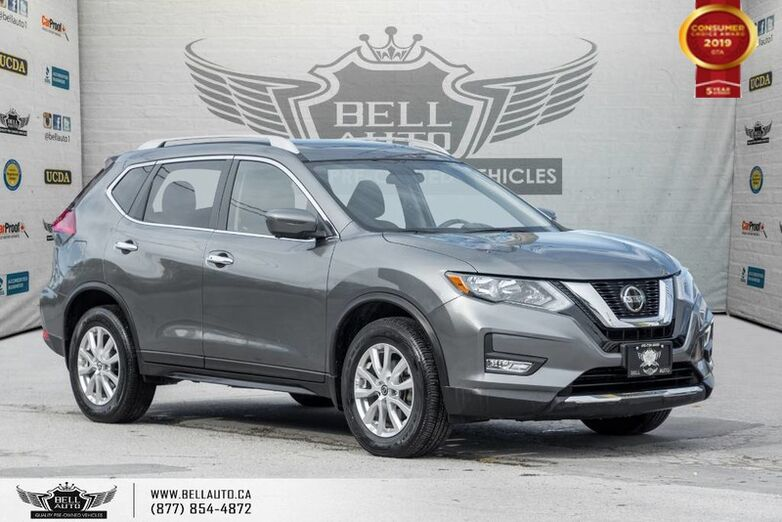 2018 Nissan Rogue SV, AWD, NAVI, 360 CAM, BLINDSPOT, PANO ROOF, SENSORS Toronto ON