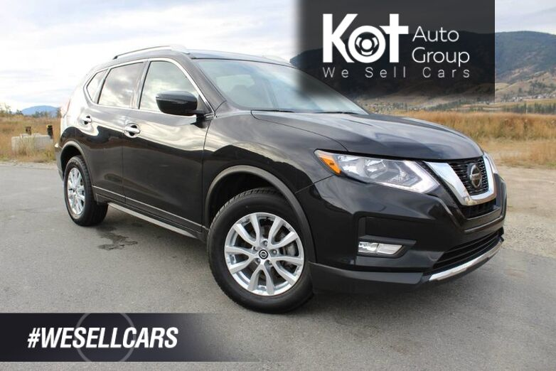 2018 Nissan Rogue SV AWD, No Accidents, Great On Fuel, Heated Front Seats Penticton BC