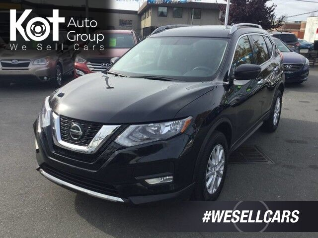 2018 Nissan Rogue SV AWD No Accidents! Panoramic Sunroof, Backup Camera Kelowna BC