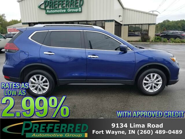 2018 Nissan Rogue SV Fort Wayne Auburn and Kendallville IN
