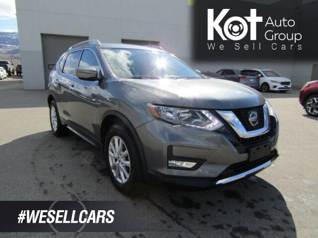 2018 Nissan Rogue SV, Heated Seats, Back-Up Camera, Air Conditioning, Cruise Control Kelowna BC