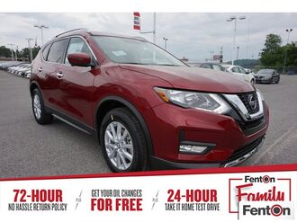 2018_Nissan_Rogue_SV_ Knoxville TN