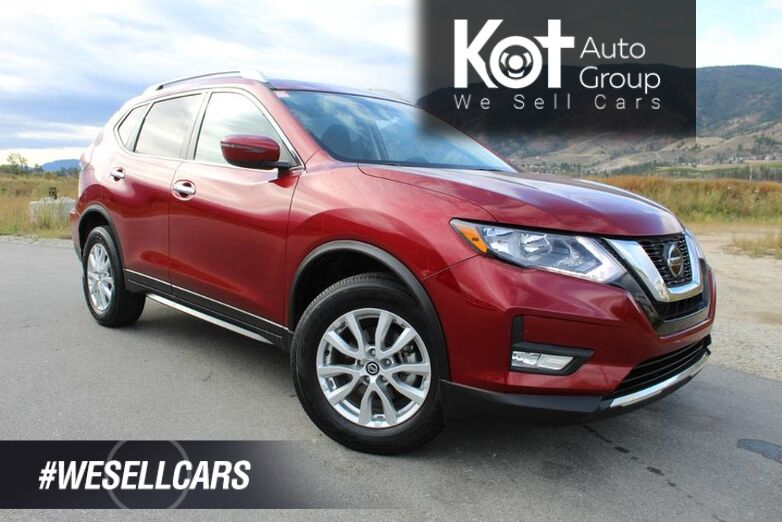 2018 Nissan Rogue SV, Low Km's, No Accidents, Panoramic Sunroof Kelowna BC