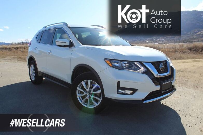2018 Nissan Rogue SV, NO ACCIDENTS!, Heated Front Seats Kelowna BC