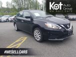 2018 Nissan SENTRA SV! BACKUP CAM! HEATED SEATS! BLUETOOTH! NO ACCIDENTS! DRIVE IN COMFORT & STYLE!