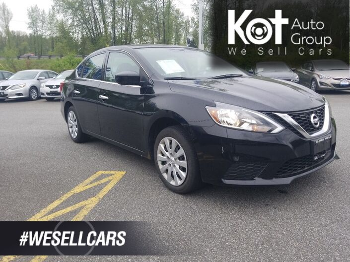 2018 Nissan SENTRA SV! BACKUP CAM! HEATED SEATS! BLUETOOTH! NO ACCIDENTS! DRIVE IN COMFORT & STYLE! Kelowna BC
