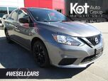 2018 Nissan SENTRA SV MIDNIGHT EDITION! 3M PROTECTION! SUNROOF! ONLY 29,000 KMS! RARE UNIT! BLUETOOTH! HEATED SEATS! BACKUP CAM!