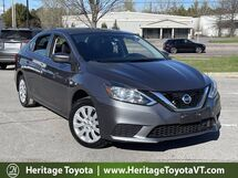 2018 Nissan Sentra S South Burlington VT
