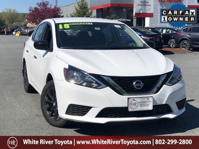 2018 Nissan Sentra S White River Junction VT