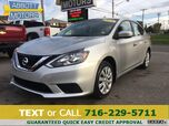 2018 Nissan Sentra S w/Low Miles & Factory Warranty