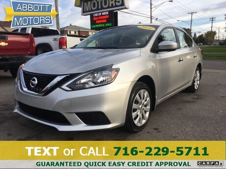 2018 Nissan Sentra S w/Low Miles & Factory Warranty Buffalo NY