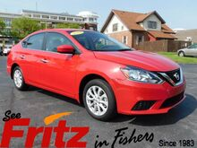 2018_Nissan_Sentra_SV_ Fishers IN