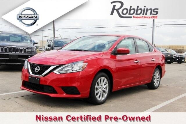 2018 Nissan Sentra SV Houston TX
