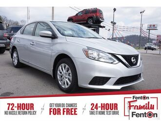 2018_Nissan_Sentra_SV_ Knoxville TN